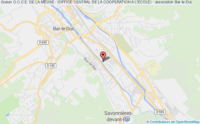 O.C.C.E. DE LA MEUSE - (OFFICE CENTRAL DE LA COOPERATION A L'ECOLE) -