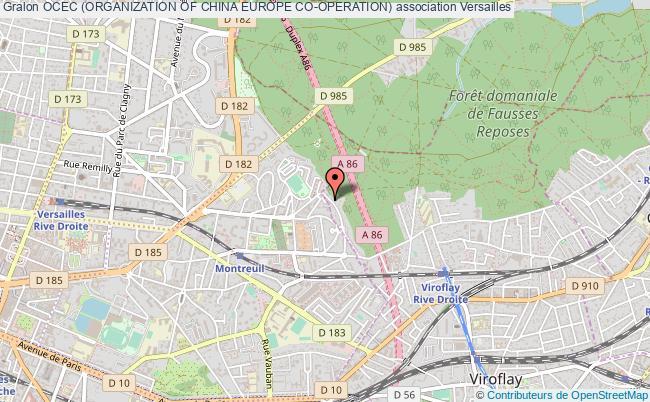 plan association Ocec (organization Of China Europe Co-operation)