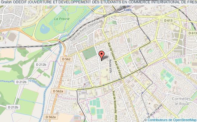 plan association Odecif (ouverture Et Developpement Des Etudiants En Commerce International De Fresnel)