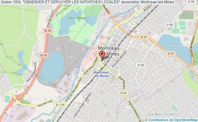 """plan association Odil """"observer Et DÉployer Les Initiatives Locales"""""""