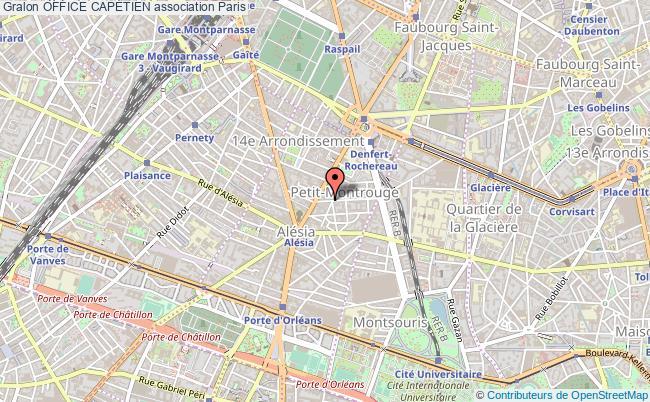 plan association Office CapÉtien