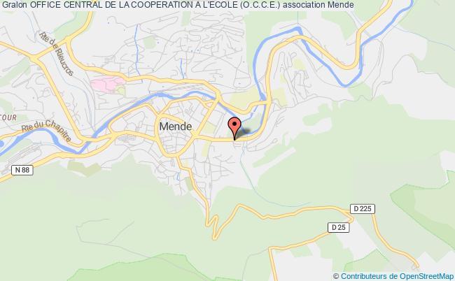 plan association Office Central De La Cooperation A L'ecole (o.c.c.e.)