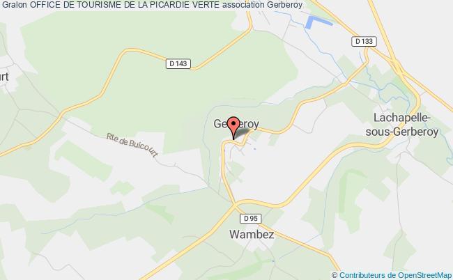 plan association Office De Tourisme De La Picardie Verte Et Ses VallÉes