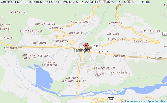 office de tourisme mieussy - taninges