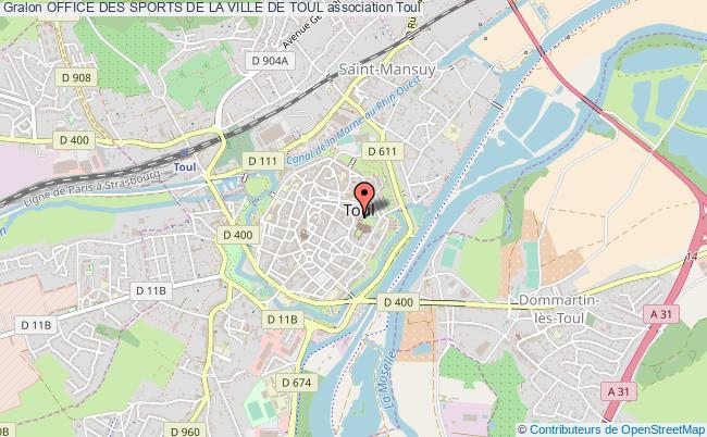 plan association Office Des Sports De La Ville De Toul
