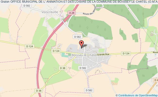 plan association Office Municipal De L' Animation Et Des Loisirs De La Commune De Boissey Le Chatel (o.m.a.l)