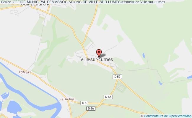 plan association Office Municipal Des Associations De Ville-sur-lumes