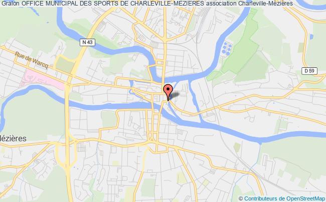 plan association Office Municipal Des Sports De Charleville-mezieres