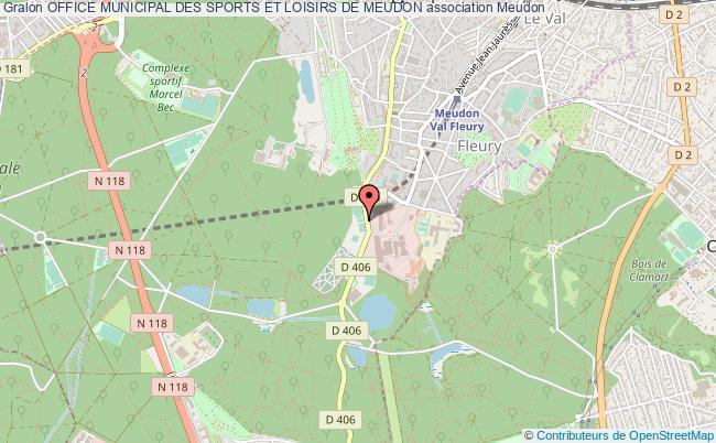 plan association Office Municipal Des Sports Et Loisirs De Meudon