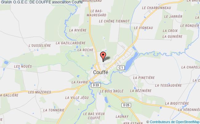 plan association O.g.e.c. De Couffe