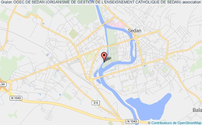 plan association Ogec De Sedan (organisme De Gestion De L'enseignement Catholique De Sedan)
