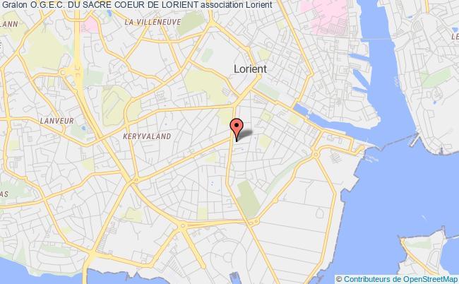 plan association O.g.e.c. Du Sacre Coeur De Lorient