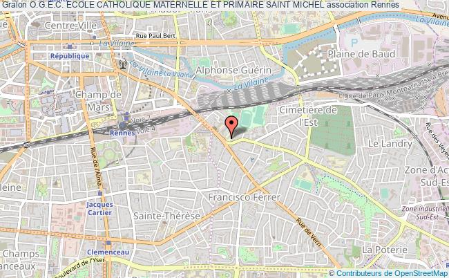 plan association O.g.e.c. Ecole Catholique Maternelle Et Primaire Saint Michel