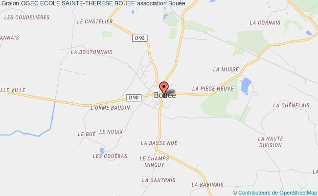 plan association Ogec Ecole Sainte-therese Bouee