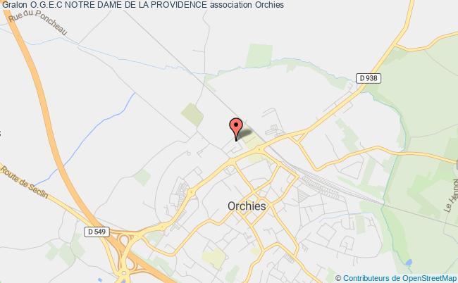 plan association O.g.e.c Notre Dame De La Providence Orchies