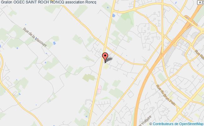 plan association Ogec Saint Roch Roncq