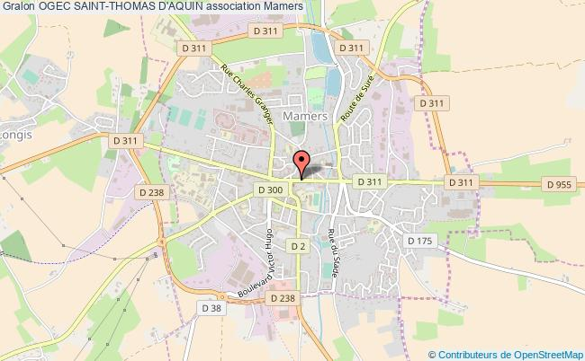 plan association Ogec Saint-thomas D'aquin