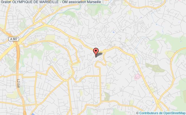 plan association Olympique De Marseille - Om