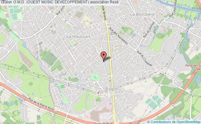 plan association O.m.d. (ouest Music Developpement)