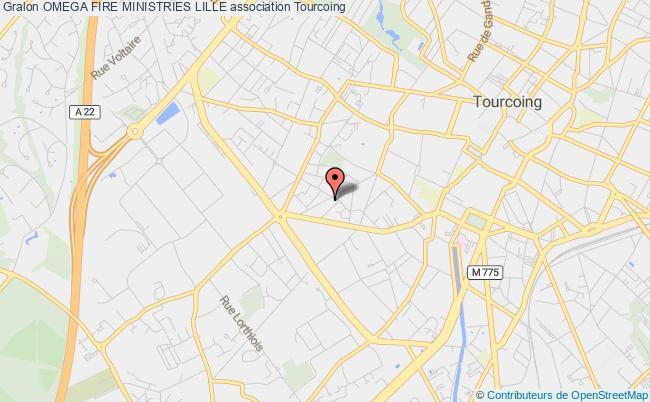 plan association Omega Fire Ministries Lille