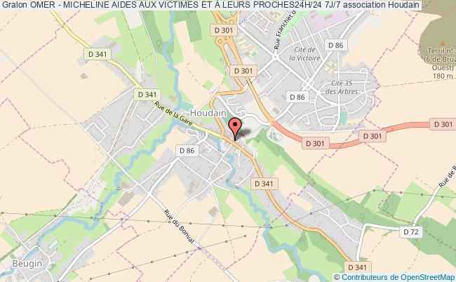 plan association Omer - Micheline Aides Aux Victimes Et À Leurs Proches24h/24 7j/7