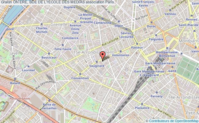 plan association On Ere, Bde De L?ecole Des Medias Paris