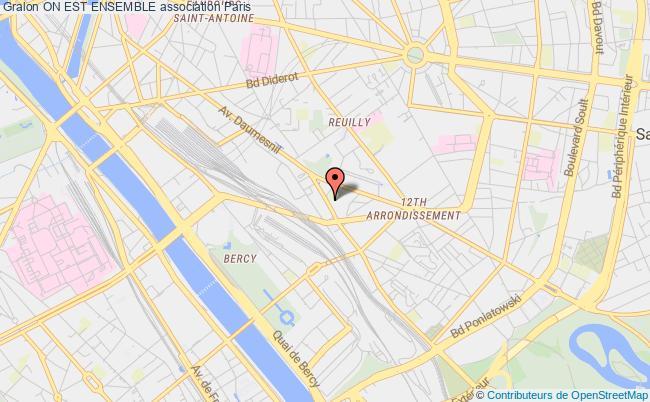 plan association On Est Ensemble Paris
