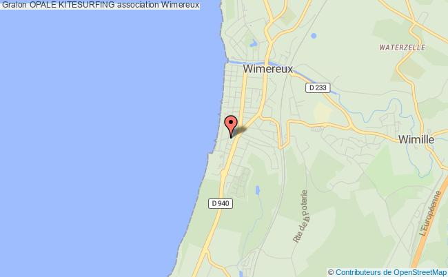 plan association Opale Kitesurfing Wimereux