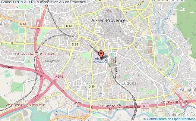 plan association Open Air Run
