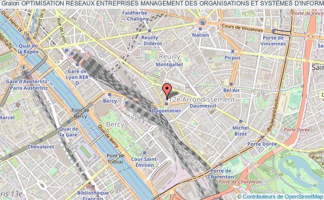 plan association Optimisation RÉseaux Entreprises Management Des Organisations Et SystÈmes D'informations (oremosi) Paris