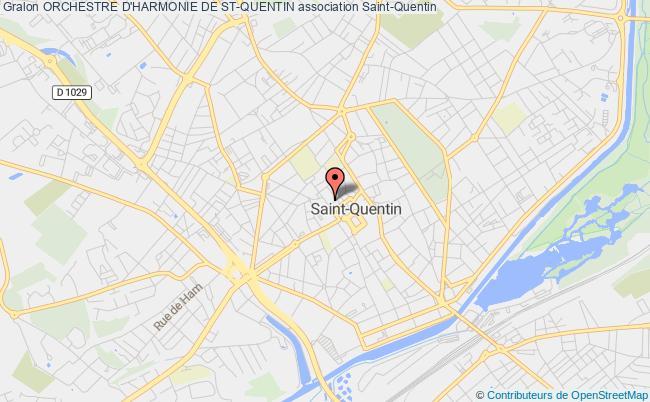 plan association Orchestre D'harmonie De St-quentin