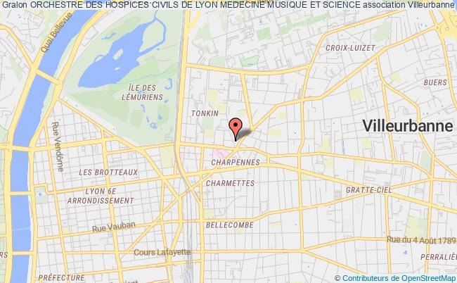 plan association Orchestre Des Hospices Civils De Lyon Medecine Musique Et Science