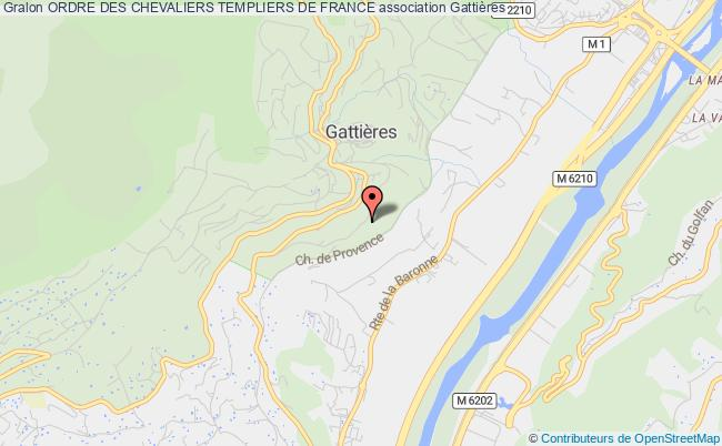 plan association Ordre Des Chevaliers Templiers De France