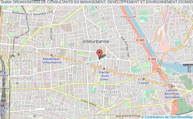 plan association Organisation De Consultants En Management, Developpement Et Environnement (ocmade)