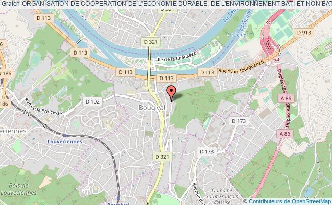plan association Organisation De Cooperation De L'economie Durable, De L'environnement Bati Et Non Bati, Et De L'energie A Bougival Bougival