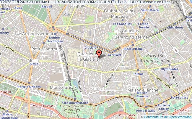 plan association Organisation Ima.l - Organisation Des Imazighen Pour La Liberte