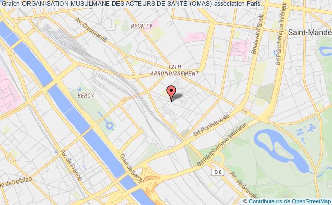 plan association Organisation Musulmane Des Acteurs De SantÉ (omas)