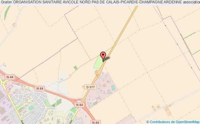 plan association Organisation Sanitaire Avicole Nord Pas De Calais-picardie-champagne Ardenne