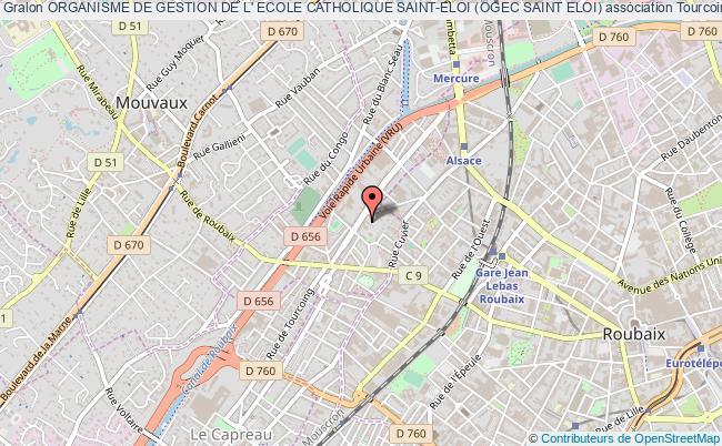 plan association Organisme De Gestion De L' Ecole Catholique Saint-eloi (ogec Saint Eloi)