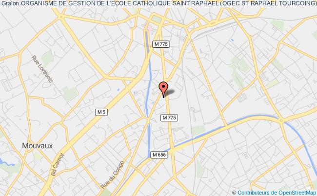 plan association Organisme De Gestion De L'ecole Catholique Saint Raphael (ogec St Raphael Tourcoing)
