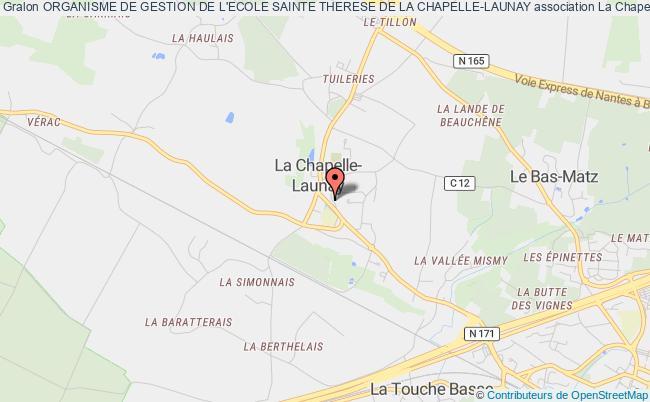 plan association Organisme De Gestion De L'ecole Sainte Therese De La Chapelle-launay
