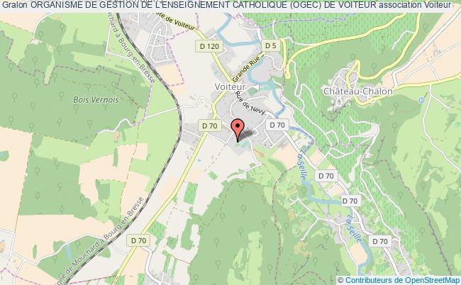 plan association Organisme De Gestion De L'enseignement Catholique (ogec) De Voiteur