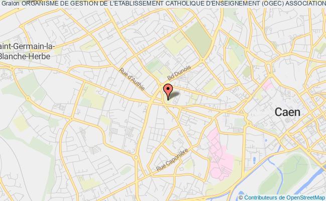 plan association Organisme De Gestion De L'etablissement Catholique D'enseignement (ogec) Association Sainte-angele