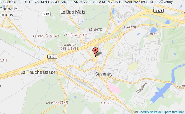plan association Organisme De Gestion Des Ecoles Catholiques De Savenay
