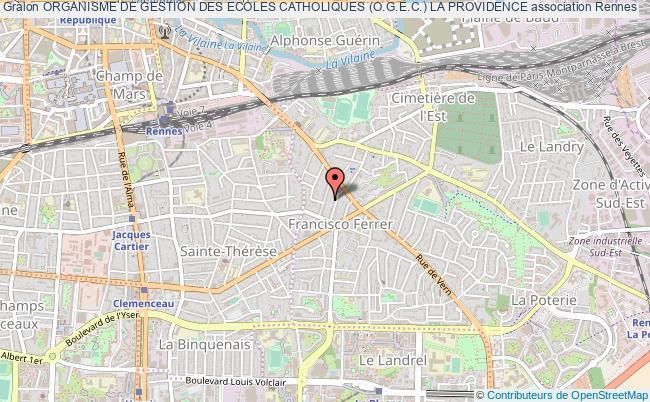 plan association Organisme De Gestion Des Ecoles Catholiques (o.g.e.c.) La Providence