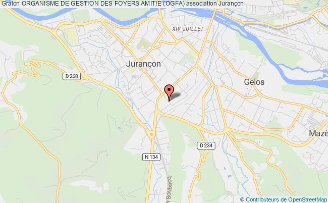 plan association Organisme De Gestion Des Foyers Amitie (ogfa) Jurançon