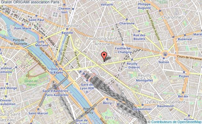 plan association Origami Paris