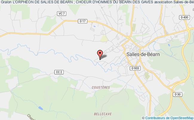 plan association Orpheon De Salies De Bearn