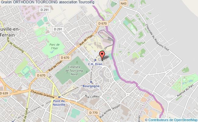plan association Orthodon Tourcoing Tourcoing