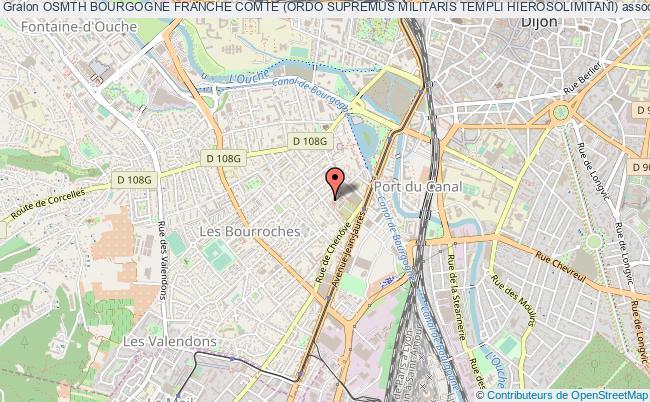 plan association Osmth Bourgogne Franche Comte (ordo Supremus Militaris Templi Hierosolimitani)